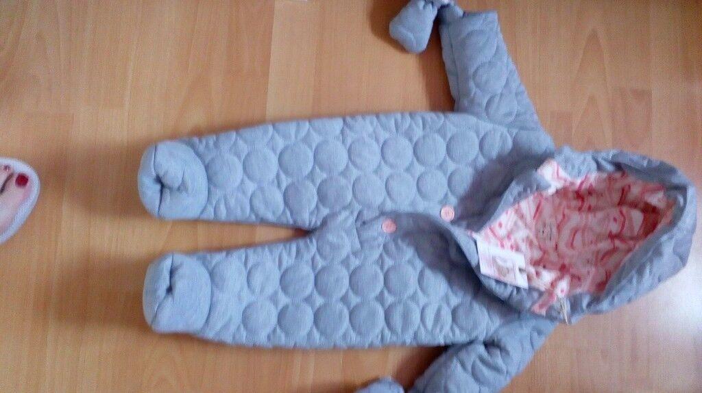 NEW Designer Baby outdoor suit 6-9 months