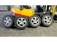 Mercedes ML original 17 inch alloy wheels