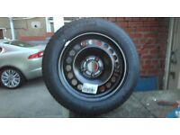 1 spare wheel fits insignia 225/55/17 new michelin tyre