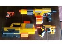 Four NERF Guns £20
