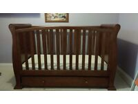 Sleigh cot/bed, day bed