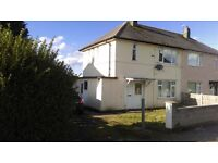 3 Bedroom House with large gardens and driveway available now.