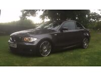 BMW 125i Coupe 2008 Metallic Grey 44,000 miles 2 owners Superb Condition