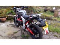 Lexmoto Venom 125cc Special Edition Great Condition Low mileage!!!
