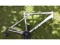 Bike frame job lot. 5 frames , trek , gt , land rover , carrera