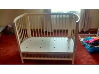 Mamas & Papas Baby Cot - Top Quality, All Wood