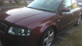 Audi A4 1.8 turbo petrol 2001