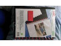 NEW Alba plastic binding folder (25 plastic wallets)