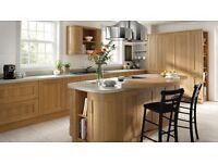 Solid Oak Framed Style Kitchen Including Applinaces Only £995