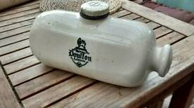 Vintage Royal Doulton Hot Water Bottle Stoneware