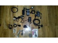 Chargers, wires, adapters joblot