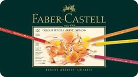 NEW Faber-Castell Polychromos Colour artist Pencils Tin of 120 (sealed)