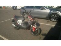 Peugeot Metal x 100cc Scooter Forsale(Needs gone asap,Open to offers.But Sensible ones. Calls only!)