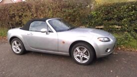 MAZDA MX5 2.0i SE CONVERTIBLE, FINISHED IN SUNLIGHT SILVER