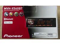 Pioneer media unit great sound quality