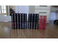 A complete set of the Encyclopedia Britannica printed 1985