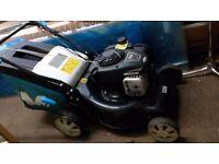 Macalister 450e 125cc petrol lawn mower