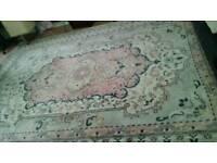 Large wool carpet rug