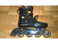 Rollerblades UK Size 7 (2 Pairs) plus elbow and knee pads