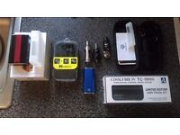 Box mods and tanks for sale