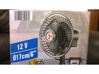 Electric Oscillating Fan (Brand New) For Cars/Vehicles