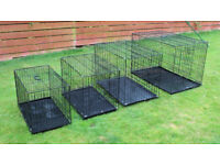 dog cage. crate. pen. kennel. various sizes. all new