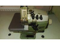 Willcox & Gibbs 3 Thread Overlocker Industrial Sewing Machine