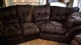 Big comfy brown sofa