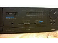 Retro Akai HX-A2 Cassette Tape Deck Player/Recorder Tested & WORKING