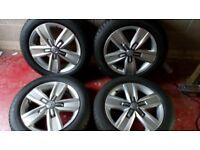 VW transporter alloy wheels Davenport t5 or t6 17 inch