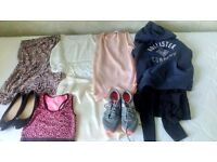 Ladies/Girls Clothes Bundle. Size 6-8 & Shoes/Trainers in Good Condition . Only £12