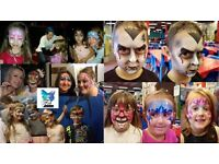Fab Faces Face Painting - Professional Face Painter and Airbrush tattoos for all kind of events
