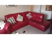 Corner Sofa with Electric Recliner Chair