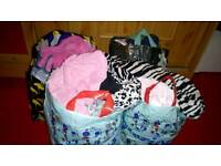 4 bags off baby girls clothes