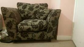 Comfy single seater sofa