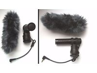 Stereo Microphone for camcorder: Panasonic VW-VMS10 + deadcat