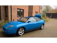 Fiat Coupe 20v Turbo 1998 40500 mile Original specification Blue Sunroof Aircon Leather