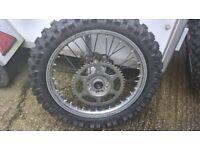 """KTM SX, SXF rear 19"""" wheel"""