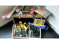 Joblot new tools, and joiners box