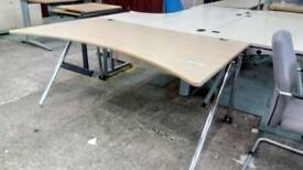 1600mm office desks with dedicated power supply