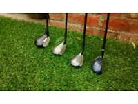 4 Men's Golf Clubs