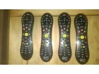 4 virgin TiVo remotes