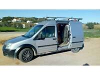 Ford Transit Connect Micro Tiny Stealth Camper Van Conversion with Wood Burner!
