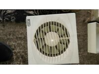 Electric Bathroom Shower Kitchen Room Exhaust Ventilation Fan Vent