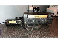 Kenwood TS 570 D G Full HF radio 0-30 Mhz transmit.