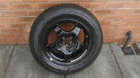 Original spare wheel of Mercedes S classe 225/60/16