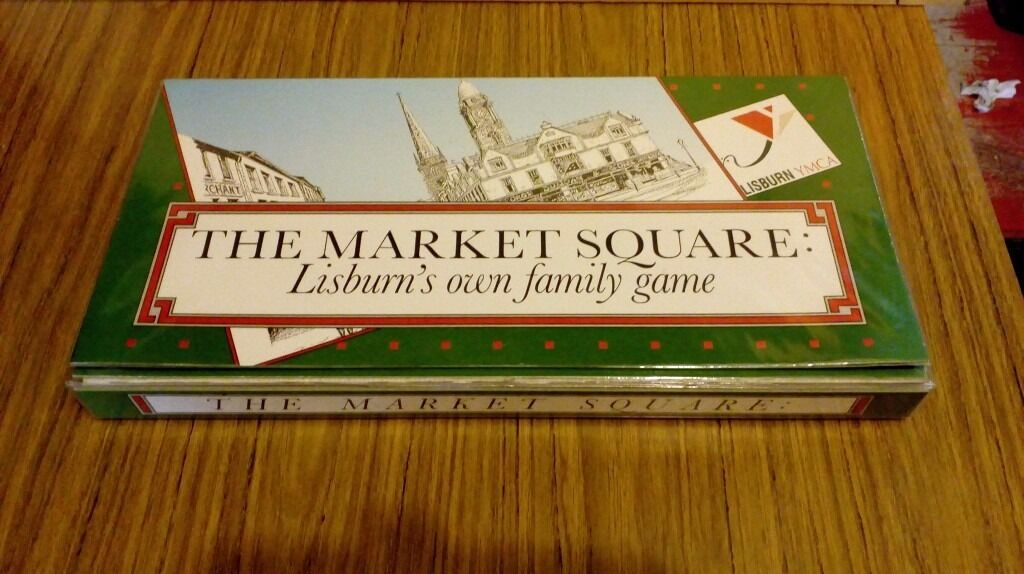 Collectable board gameThe Market Squarein Belfast City Centre, BelfastGumtree - In great condition a collectable board game based on the Lisburns Market Square. All prices included and Northern Bank bank notes all in perfect condition. Just having a clear out and someone may enjoy/appreciate this old 1990s Northern Ireland...