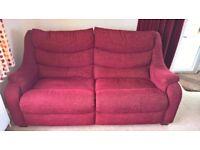 Parker Knoll Sofa Set (1 x 3 Seater, 2 x 1 Seater & a Pouffe)