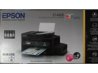Epson Ecotank ET-4500 all in one printer: wifi, fax, copy, scan