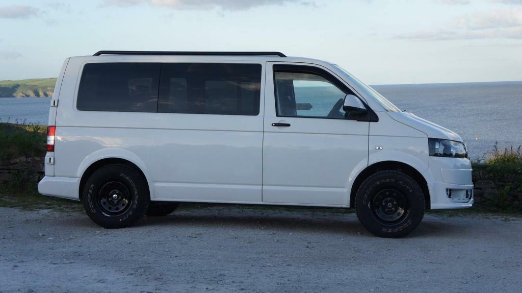 Vw t5 campervan with drive away awning | in Truro ...